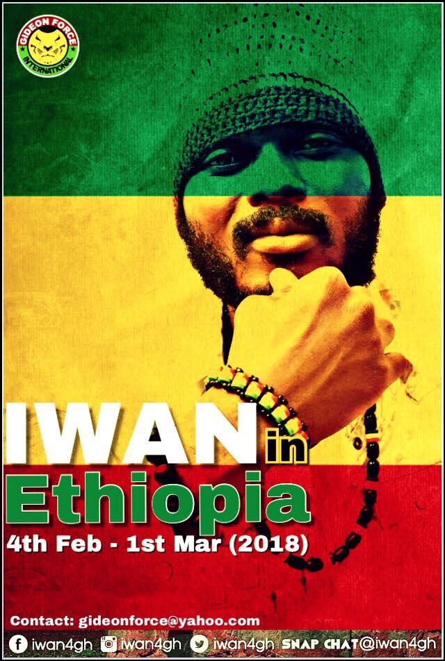 Iwan To Tour Ethiopia This February