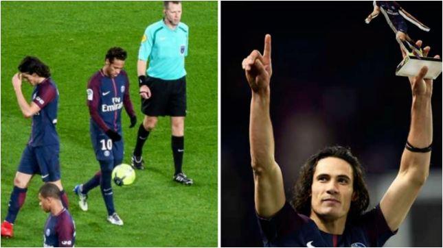 Neymar Reveals Why He Didn't Let Edinson Cavani Take Penalty Vs Dijon