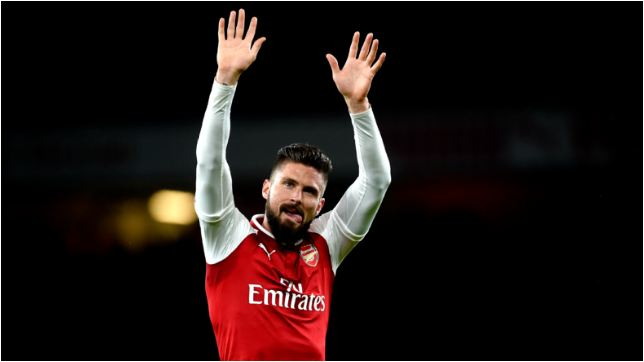 Chelsea Reportedly Agree Deal To Sign Olivier Giroud From Arsenal