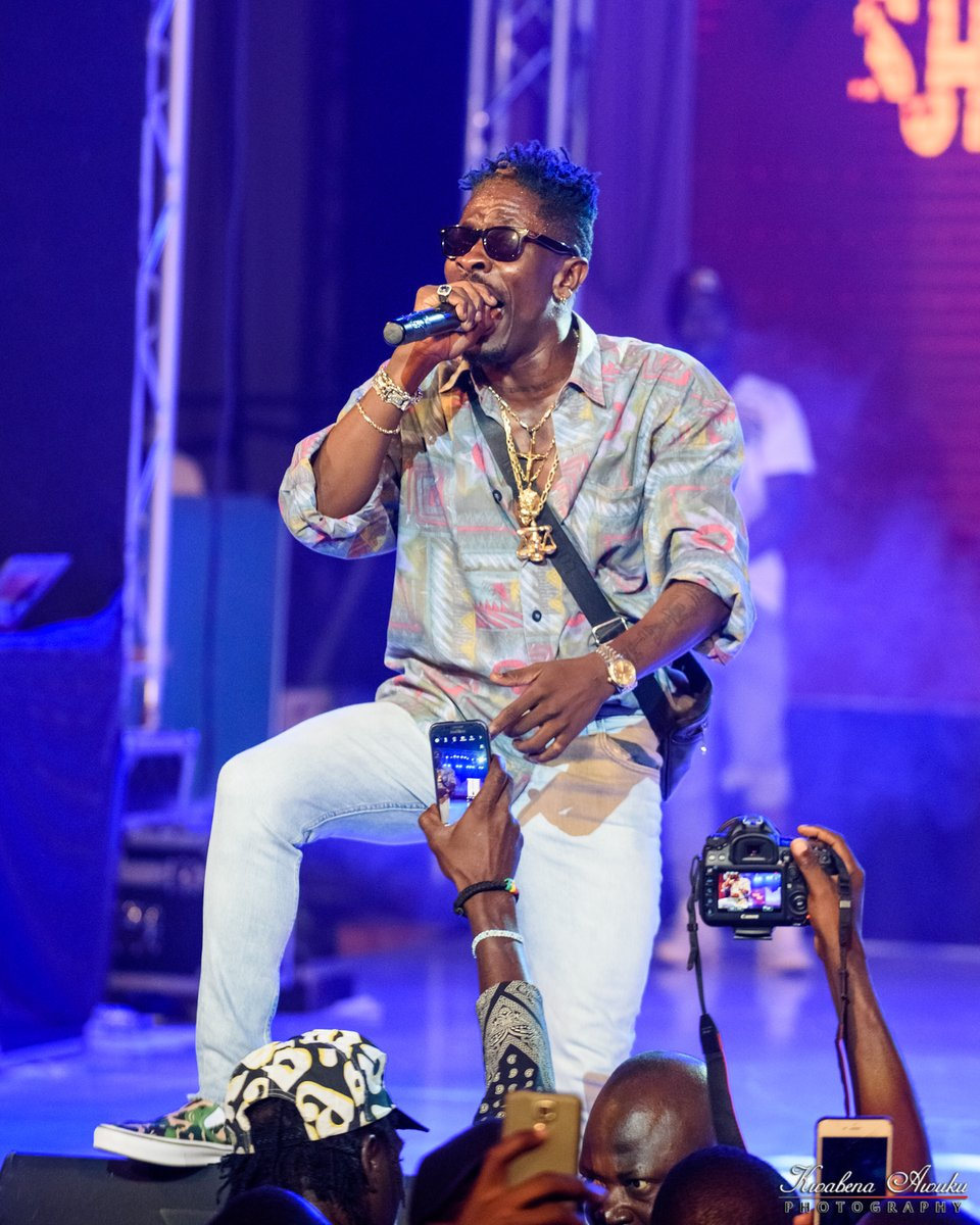 CAF Breaks Silence On Shatta Wale's No Show At 2017 Awards