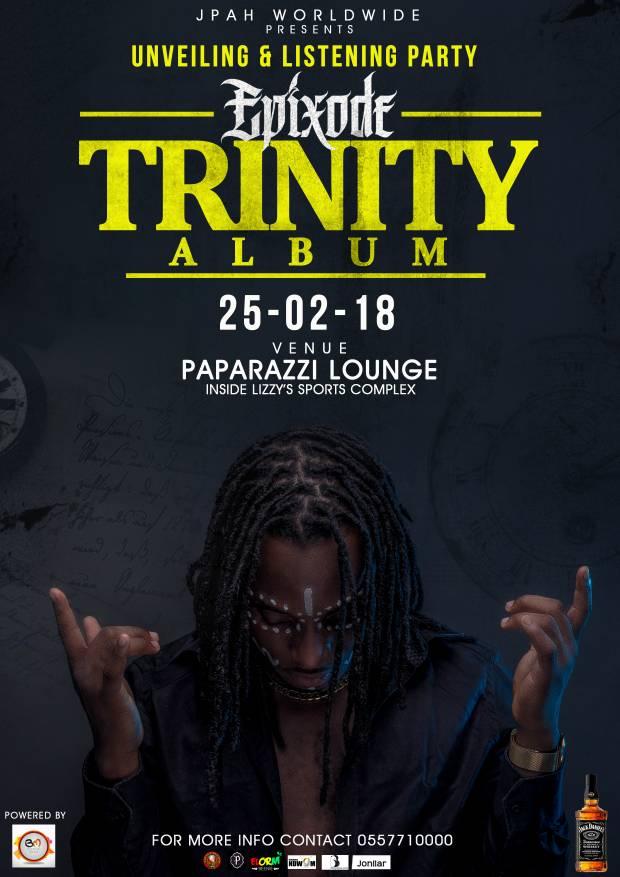 "Epixode announces February 25th for ""Trinity"" album listening session"