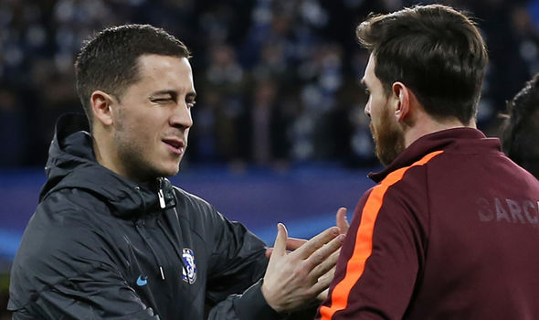 Eden Hazard reveals how Chelsea will cause Barcelona upset at the Nou Camp