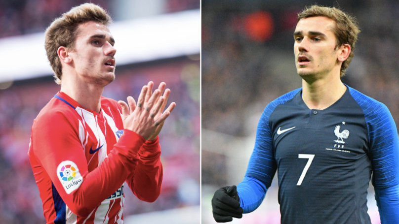There's A Reason Why Antoine Griezmann Never Wears A Short Sleeved Shirt