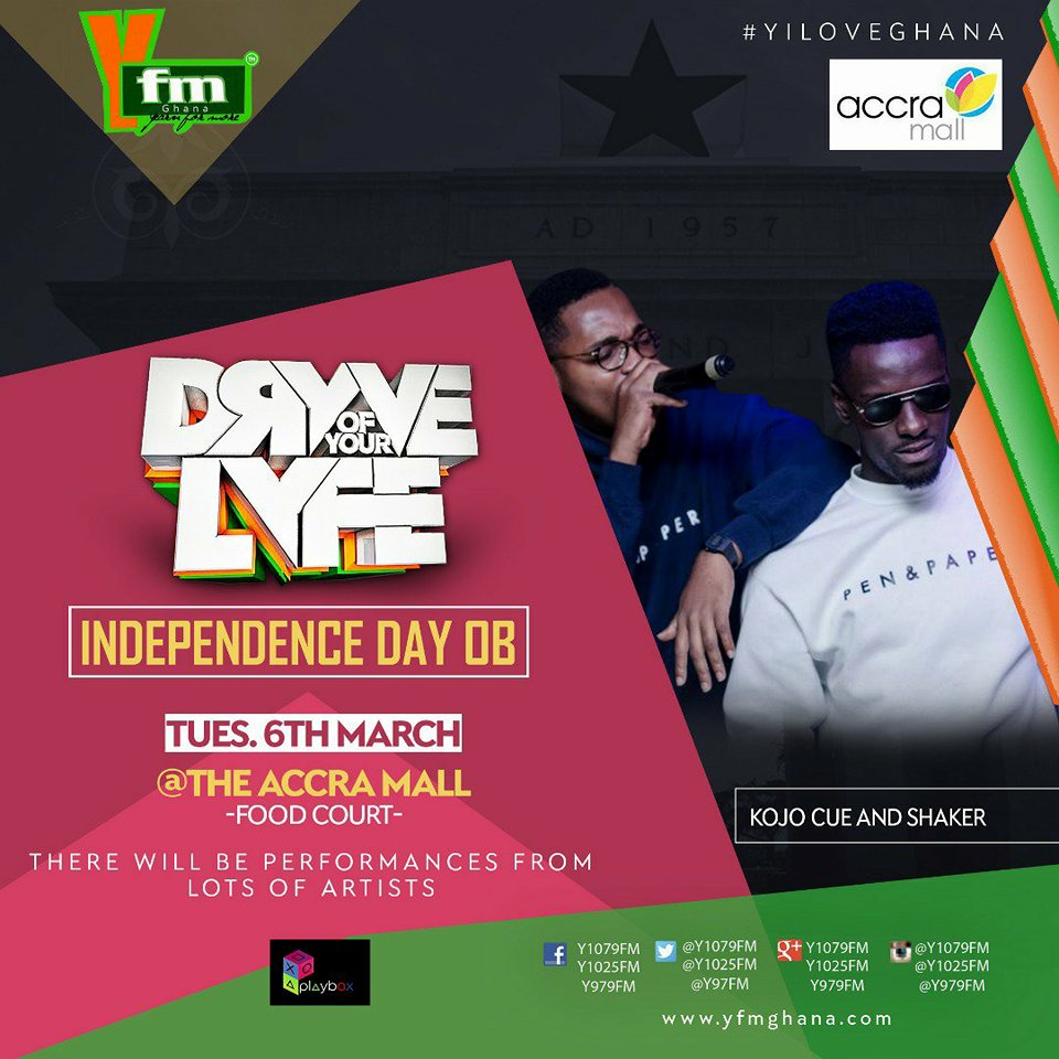 YFM's Dryve Of Your Lyfe Goes Live On Independence Day