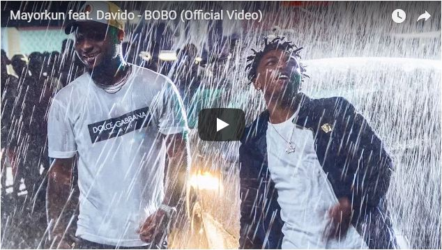 Watch: Mayorkun teams up with Davido for 'Bobo'