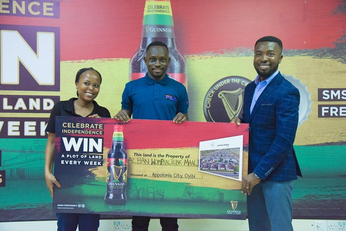 Wa Polytechnic Graduate gets head start in adult life winning a 'Piece of Ghana' in Guinness Promotion