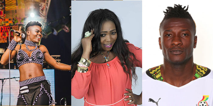 Wiyaala, Grace Ashy, Asamoah Gyan to Collaborate On Cup Of Nations Song