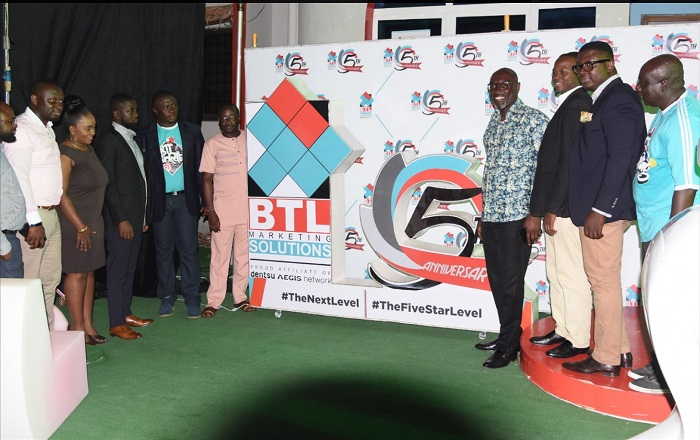 BTL Marketing Solutions Limited marks 5th year in Ghana, pledges to conquer Africa by 2027