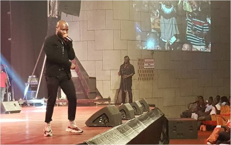 Samini, DKB, King Promise, Larry Soffer others thrill audience at 'Music, Magic & Comedy Show'