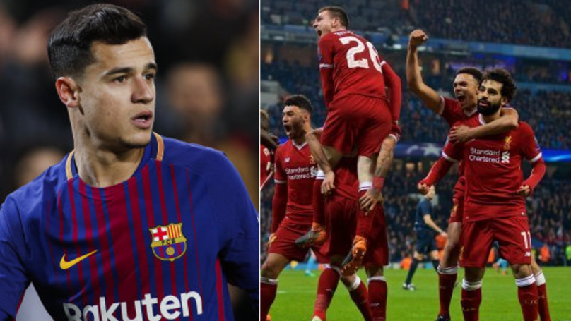 Philippe Coutinho Could Take Home A Winners Medal If Liverpool Win The Champions League