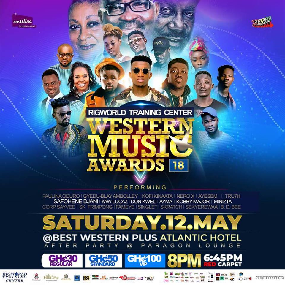 Rigworld Training Center Western Music Awards slated for Saturday May 12