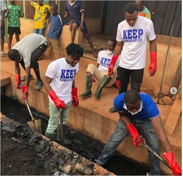 Fancy Gadam to Clean Ghana Zongos