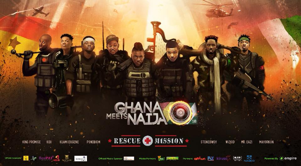 Full Artist Line-Up For 2018 Ghana Meets Naija Revealed