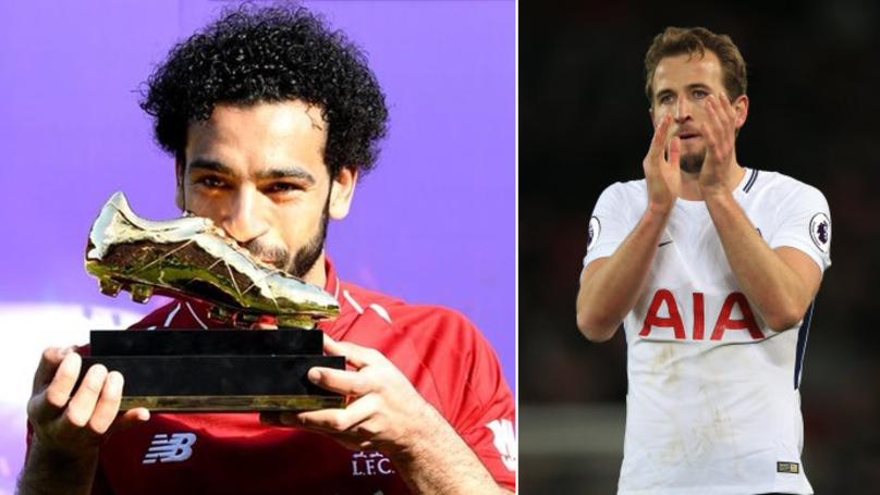 Harry Kane Reacts To Mohamed Salah Winning Golden Boot