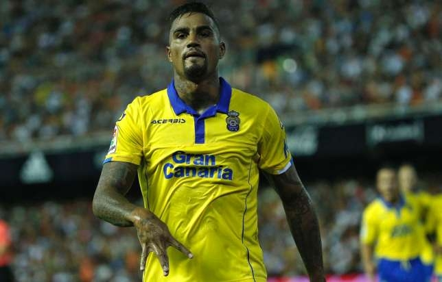 KP Boateng Scores on his debut for Las Palmas