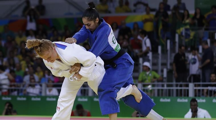 #Rio2016Olympics: Ghana's first female judoka Szandra Szogedi makes history despite loss