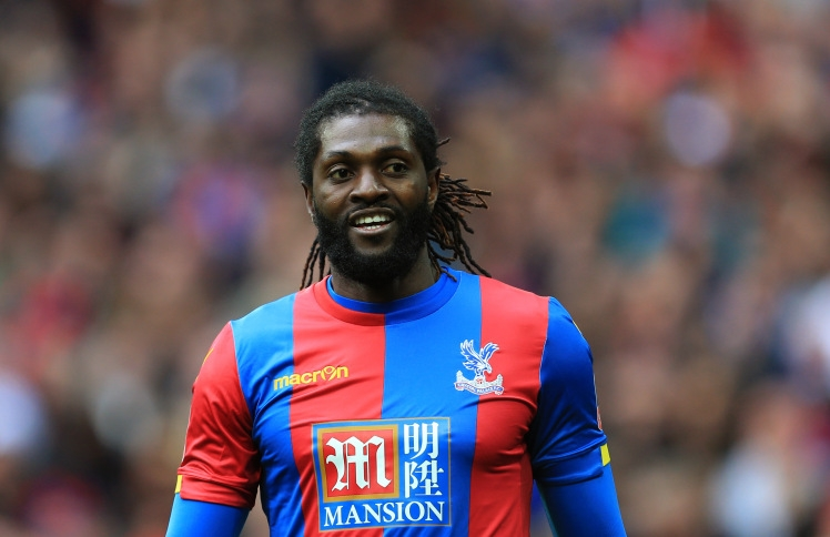 Emmanuel Adebayor Closing in on Free Transfer to Champions League Club