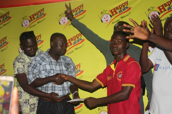 20-year old Abu National Wins 2016 Happy FM Damehene- After smashing Kickway