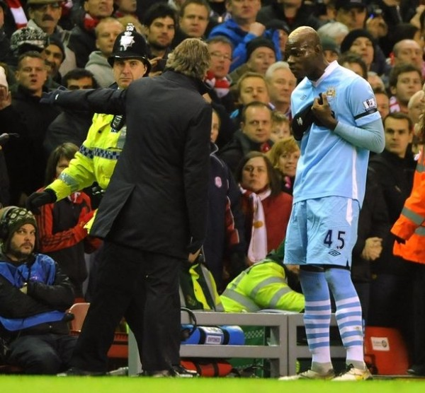 Mancini reveals why Balotelli left Manchester City in 2013