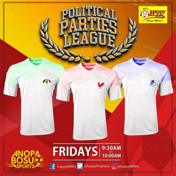 HAPPY FM Political Parties League - Comprehensive Round-up of Match Day 2