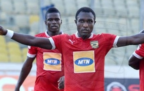 Kotoko's Obed Owusu Scoops WORST Striker of the Year in Happy FM's Golden Bin Awards
