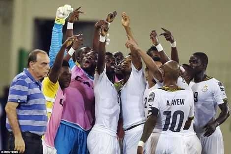 Black Stars to camp in Dubai ahead of crunch Egypt clash