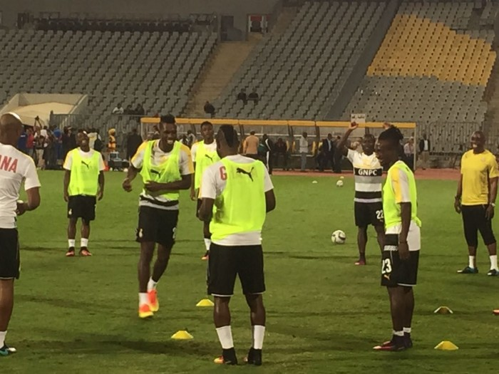 LIVE PHOTOS UPDATE: Battle-ready Stars Hold Last Training in Alexandria Ahead of Crucial Egypt Tie