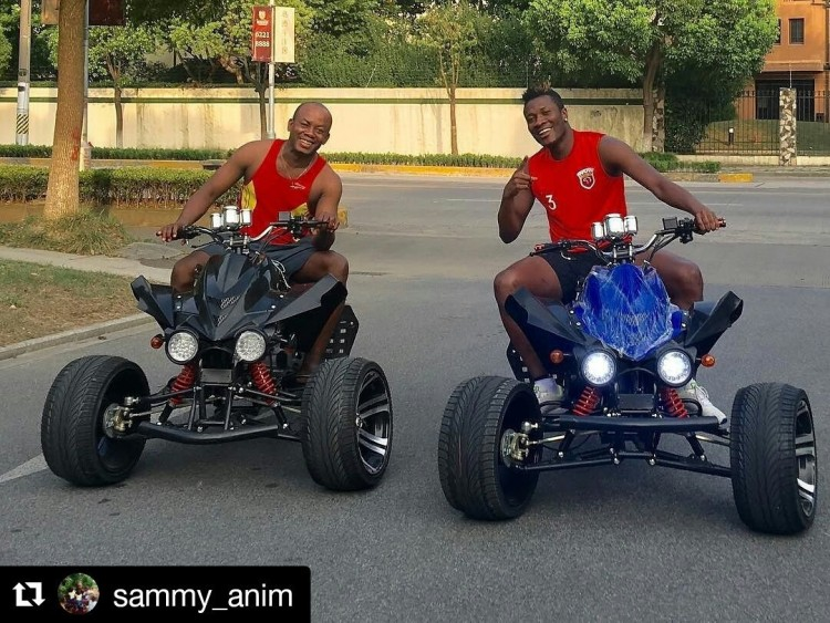 How Black Stars Players Wished Asamoah Gyan Well On His 30th Birthday