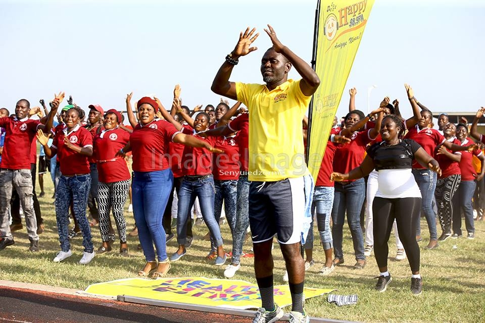 MORE LIVE PHOTOS: Excitement galore at Happy FM Keep-fit Festival