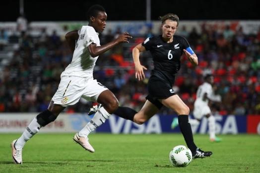 Last-gasp Goal Sinks Black Princesses in World Cup Opener