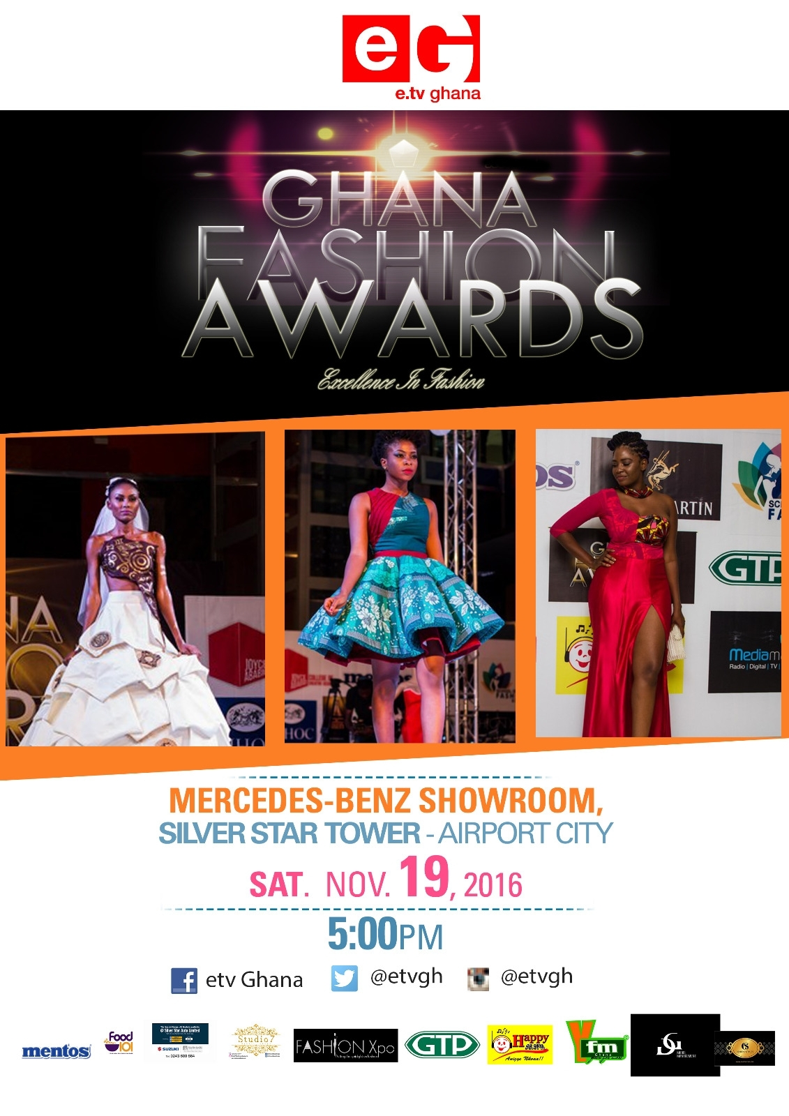 Over 70 Fashion Designers Nominated For 2016 E.Tv Ghana Fashion Awards
