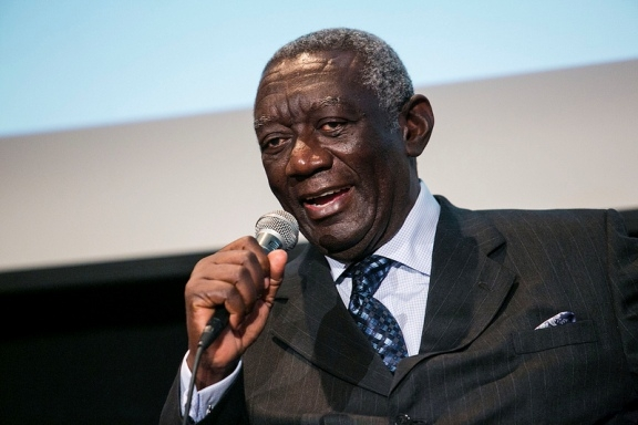 I am not dead – Former President Kufuor