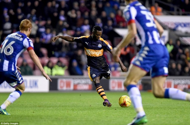 Christian Atsu's stunning goal secures victory for Newcastle