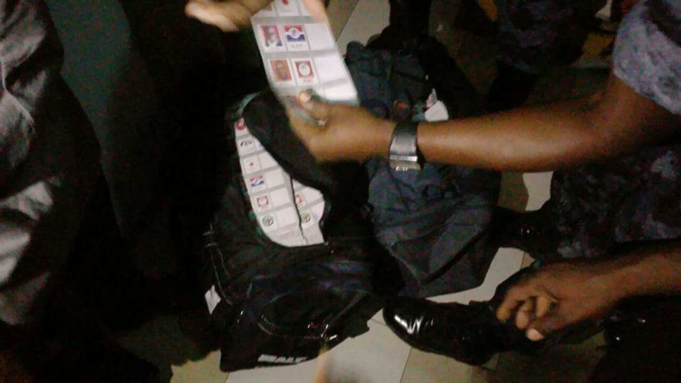 Kumasi police retrieve thumb printed ballot papers from hotel room