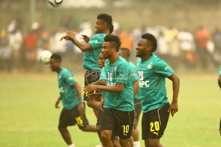 Ati-Zigi, Donyoh, Terkpertey, Dwamena Join Black Stars As Team Begins AFCON Preparation