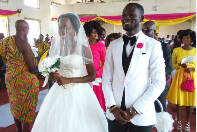 PHOTOS: ETV & Happy FM Presenter Ohene Bampoe Brenya Marries