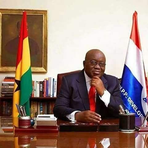Nana Akufo Addo Declared Ghana President