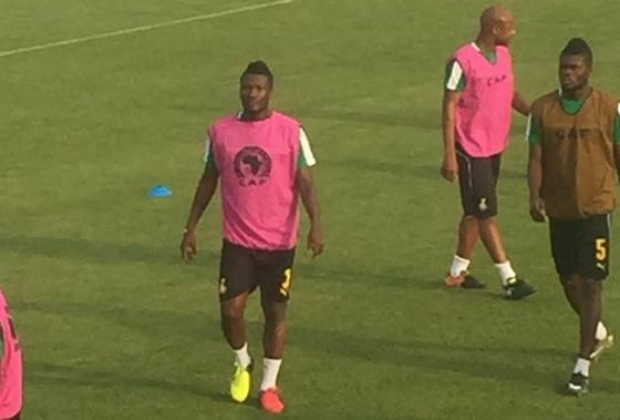 The JET is Back! As Gyan trains with Black Stars ahead of Crunch DR Congo clash - PHOTOS