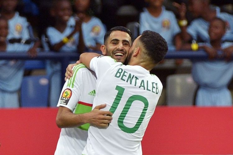 #AFCON2017: Brilliant BILLIAT Stars As Mahrez's Double rescue Algeria