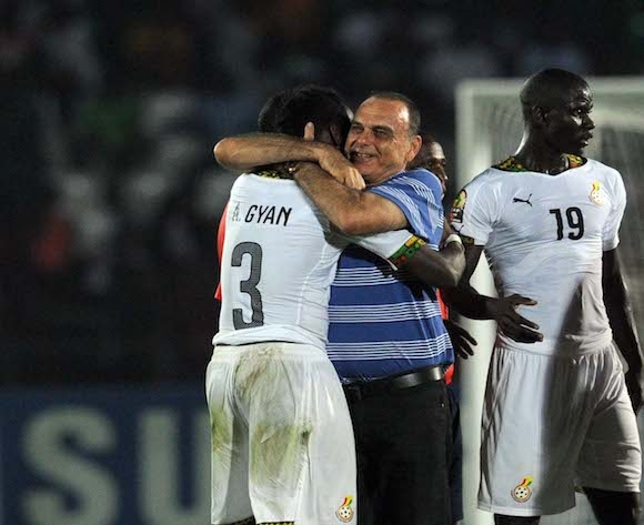 Avram Grant showers praises on Asamoah Gyan ahead of AFCON