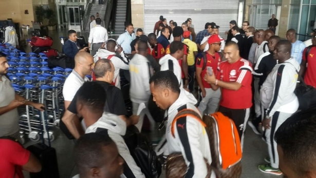 Black Stars Land In UAE- Set To Start Training Camp Today