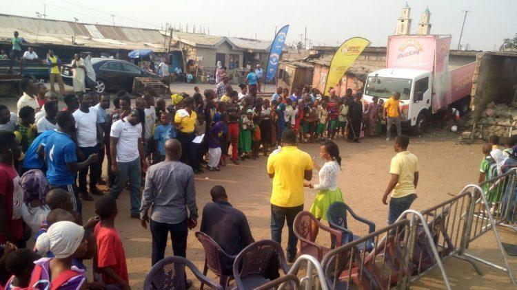 PHOTOS: Happy FM and Cowbell Shake Sabon Zongo With Ghana-Uganda Coverage