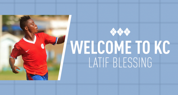 Latif Blessing joins MLS side Sporting KC