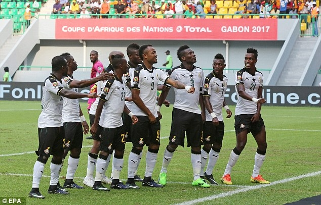 Black Stars to train in Franceville today ahead of  Cameroon Clash
