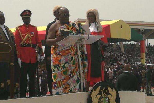 Nana Akufo-Addo sworn in as President of Ghana