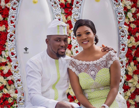 PHOTOS: A-Plus and Akosua Vee's stunning marriage ceremony