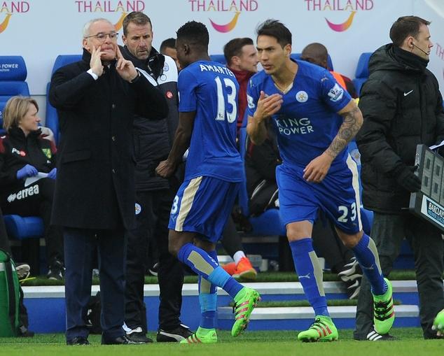 Daniel Amartey expresses gratitude to Claudio Ranieri