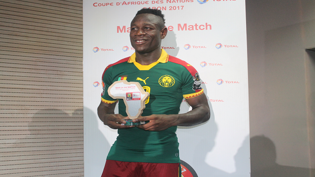 Bassogog named AFCON 2017 Player of the Tournament - Full List Of Winners