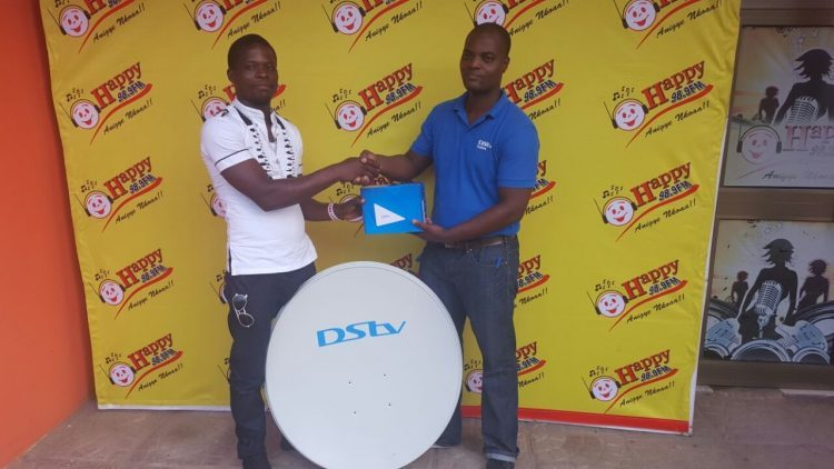 PHOTOS: Winners of AFCON Predict & Win get prizes from DSTV & Mentos