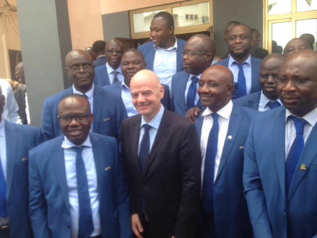 FIFA Prez assures Africa of seven or more spots at expanded World Cup